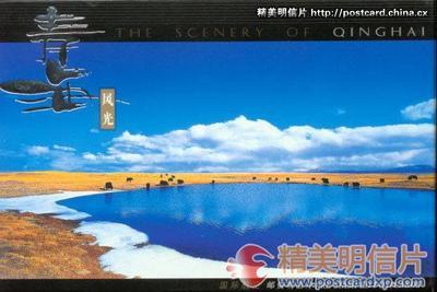 青海风光 国际邮资明信片